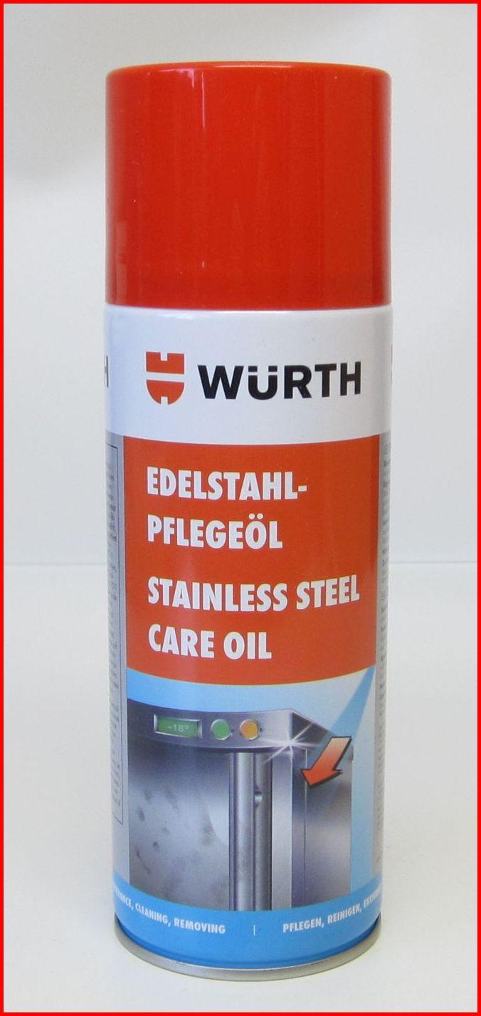 31,25€/L] 1x Würth Edelstahlpflege Öl Edelstahl Reiniger Pflege ...